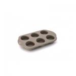 Форма для выпечки силиконовая 6 ячеек 32,5 х 19 х 4 см