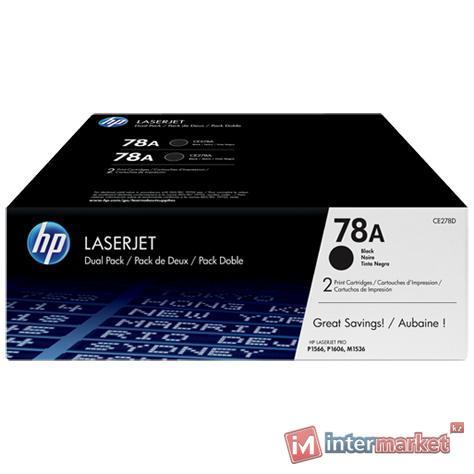 Картридж HP CE278AF (Black)