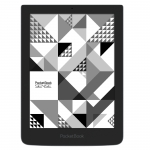 "Электронная книга PocketBook Sense with KENZO, 1GHz,6"" E-Ink,1024x758,4Gb ROM,microSD,Wi-Fi,Gray"