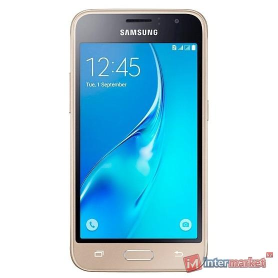 Смартфон Samsung Galaxy J1 Mini, Gold