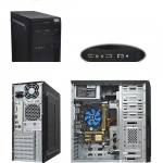 Персональный компьютер i5-4460 3.2 GHz/ MB ASUS H81M-K/ RAM 4 GB 1600 MHz/ HDD 500 GB/ DVD±R/RW/ Case ATX 400W
