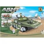 Игровой конструктор, Ausini, 22502, Армия, Средний танк T-80UD, 213 деталь, Цветная коробка