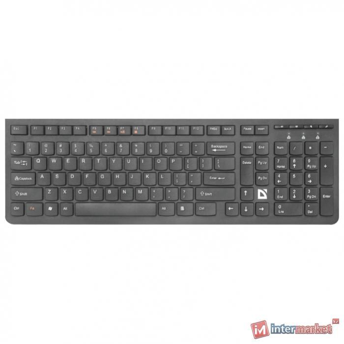 Клавиатура беспроводная Defender UltraMate SM-535, ENG/RUS, мультимедия, НОВИНКА!