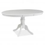 Стол обеденный Signal OLIVIA 105 раскладной, белый