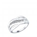 Кольцо Sokolov 94012170-17, серебро