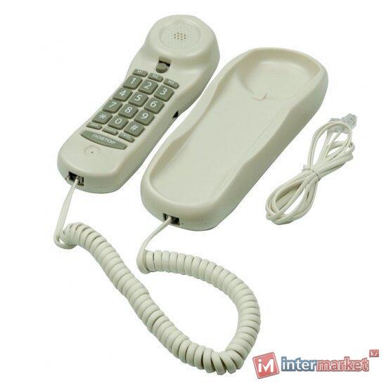 Телефон проводной Ritmix RT-003 белый