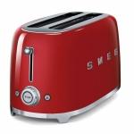 Тостер на 4 ломтика SMEG TSF02RDEU (красный)